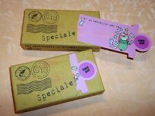 SAPONE VEGETALE idea regalo BIGLIETTO CON MESSAGGIO PER TE SPECIALE cod.9081