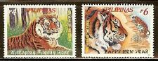 Mint Philippines1998 Year of the Tiger stamps Set Scott#2504-2505(MNH)