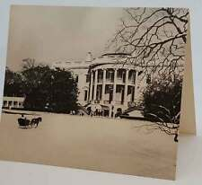1962 Rare Original John F. Kennedy White House Christmas Card