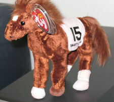 Ty Beanie Baby ~ SMARTY JONES the Kentucky Derby Horse ~ MINT with MINT TAGS