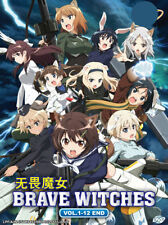 Brave Witches Anime DVD (Eps : 1 to 12 end)  with English Subtitle