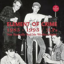 ELEMENT OF CRIME - 1985-1993 (7 LP-BOXSET,LIMITIERT) 7 VINYL LP NEU