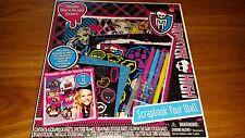 Monster High Scrapbook Your Wall Frames Glitter Sticker new