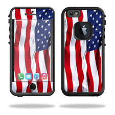 Skin Decal Wrap for Lifeproof iPhone 6/6S Case fre cover American Flag