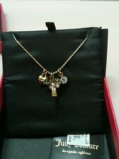 Juicy Couture Palm Tree Charm Necklace NWT Style YJRUON60
