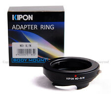 Kipon Adapter for Minolta MD/MC/MF lens to Leica M 240 Ricoh GXR A12 RF uncouple