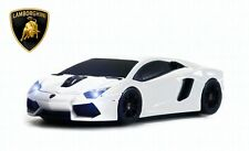 Lamborghini Aventador Wireless Car Mouse (White) - Officially Licensed