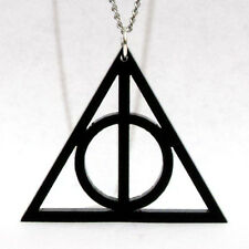 Colgante Harry Potter Collar Las Reliquias de la Muerte Deathly Hallows