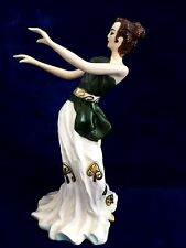 Grecian Dancer II by Kathi Urbach. Porcelain. Artist signed & numbered.1949.