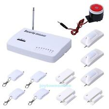New Wireless GSM Home Security Burglar Alarm System SMS Tri-Band SIM Call 433MHz