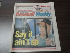 AUGUST 16, 1994 USA TODAY BASEBALL WEEKLY - STRIKE SURVIVAL GUIDE