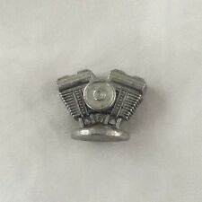 2000 Monopoly Harley Davidson Motorcycle Edition Pewter Evolution Engine Mover