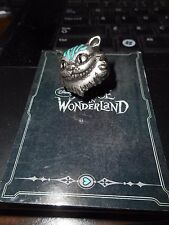 RARE Disney Couture Alice in Wonderland Metal with Enamel Cheshire Cat Ring