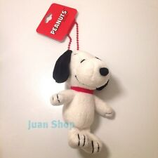 Peanuts Gang Snoopy Stuffed Plush Toy Doll with Red Key Chain
