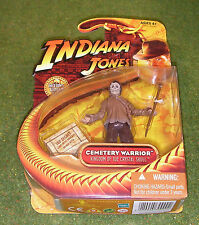"INDIANA JONES CARDED 3.75"" KINGDOM OF THE CRYSTAL SKULL CEMETERY WARRIOR"