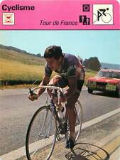 FICHE CARD: 1976 Tour de France Aldo Parecchini  Italy Cycling CYCLISME 1970s