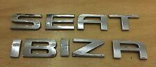 Seat ibiza arrière badge emblème logo lettres (A26)