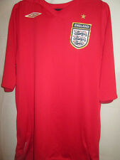 England 2006-2008 Away Football Shirt Size XLB /11675