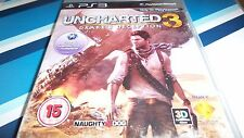 PS3 GAME UNCHARTED 3. TESTED.