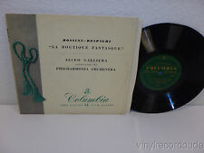 "ALCEO GALLIERA Rossini-Respighi La Boutique Fantasque 10"" LP Columbia 33S1009 EX"