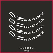 "Oz Racing Wheel Decals 18"" X8,Vinyl, Sticker, Graphics,Car, Wheels, N2141"