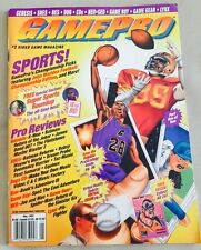 GamePro May 1993 Video Game Magazine 12 COLLECTIBLE Mutant League Football CARDS