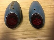 VW oval window tail lights. Volkwagen bug, Beetle, type 1, snowflake tail lights