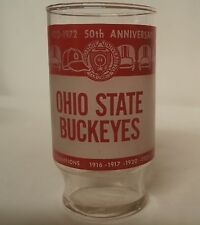 Ohio State Buckeyes 50th Anniversary of Ohio Stadium Big Ten Champion Glass 1920