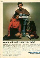 """Publicité Ancienne """" Moteur EVINRUDE 1970 (  P. 31 )"""