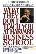What They Don`t Teach You at Harvard Business School: Notes from a Street-smart