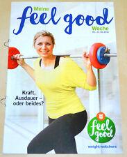 Weight Watchers Meine Feel Good Woche 5.6-11.6 SmartPoints 2016 Wochenbroschüre