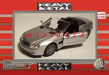 1/43 - MERCEDES BENZ SL500 - Argento - Die-cast Heavy Metal