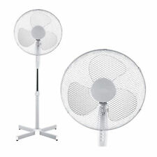 16 Pedestal Oscillation Stand Rotating 3 Speed Floor Cooling Fan Home Office