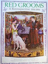RED GROOMS Exhibition Poster 1956-1984 A Retrospective