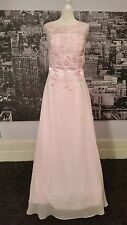 Designer Lace up dress (Pink -Size 14) Ball, Prom, Bridesmaid , RRP £200+