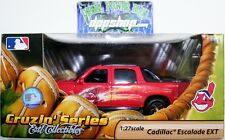 MLB Cleveland Indian Cadillac Escalade EXT ERTL die cast 1:27 baseball collector