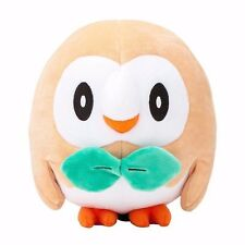 New 17cm Pokemon Rowlet Plush Toy Soft Stuffed Animal Doll Gift