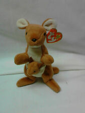 "RETIRED TY PVC  BEANIE BABY "" POUCH "" - THE KANGAROO - MWT"