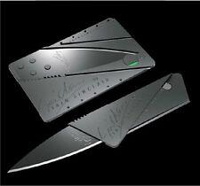 Hot Sell Credit Card Knives Pocket Thin Survival Steel Blade Tool Razor