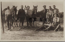 Soldier Group Transport Section 5th London Regiment London Rifle Brigade