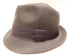 Cappello lana hat MOSCHINO mod.borsalino art.01109 T.57 col.003 antracite Italy