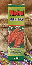 * Neha Mehandi Henna Oil * 6ml good quality Indian oil *