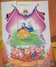 SNOWHITE blancanieves walt disney trading cards PUZZLE TRADING CARDS