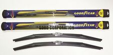 2012-2014 Ford Focus Goodyear Hybrid Style Wiper Blade Set of 2