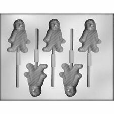 Mummy Lollypop  Sucker Chocolate Candy Mold  Halloween Monster