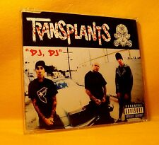 "MAXI Single CD Transplants ""DJ, DJ"" 2TR 2003 Electro, Punk RARE !"
