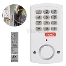 Wireless Panic Alarm Device With Security Keypad For Garden Shed Garage Door