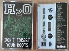 H2O - Don't Forget Your Roots CASSETTE TAPE - Hardcore Punk COVERS - NEW COPY