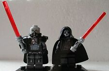 Star Clone Wars Force Awakens Darth Malgus & Darth Nihilus free Lego Lightsaber