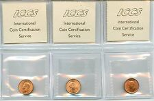 Lot of 8 1938 - 1947 Canada 1 Cent Pennies #99429 R